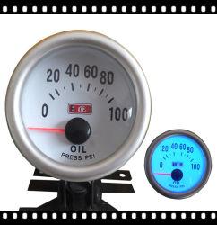 2inch وقياس 52MM النفط الصحافة، 12V مقاييس لمدة 4 6 8 Cyclinder سيارات، متر ضغط الزيت