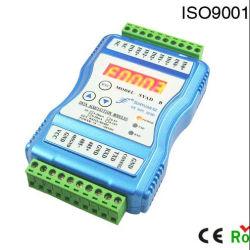 2/4-канальный мв/0-50-75V/0-10 V/4-20 Ма/0-20Ма RS232/RS485 со светодиодной подсветкой