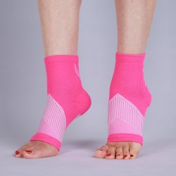 Logotipo personalizado da Luva de compressão de tornozelo suporte de tornozelo unissexo