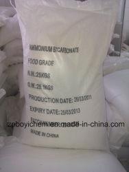L'alimentation de l'agent de fermentation avancé 99,5%Min bicarbonate d'ammonium de qualité alimentaire
