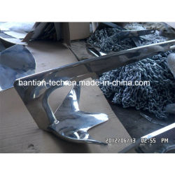 314/316 Stainless AISI Bruce Anchor with Mooring Chain (HT8)
