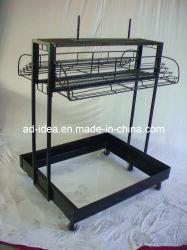 우산 Display Shelves, Hooks, Metal Rack (DR-25)를 가진 Display Rack