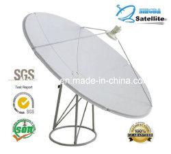 240cm en banda C Antena parabólica con Certificación SGS