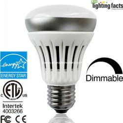 A poupança de energia 120-277V AC E26/E27/B22 4.5W Dim/6.5W/8.5W R20 Lâmpada LED