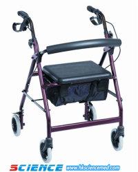 L'aluminium pour les personnes handicapées marche Rollator