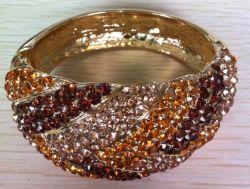 Bisutería chapado en oro de la Piedra de Cristal (31344A)