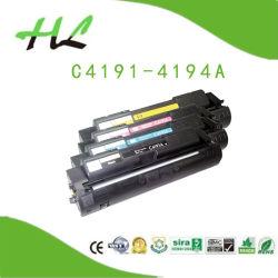 Cartouche de toner couleur compatible pour HP C4191A, C4192A, C4193A, C4194A