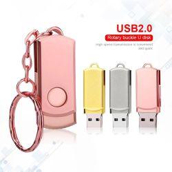 Unidad flash USB 4GB 8GB 16GB 32 GB de 64GB 128 GB Memory Stick Metal Mini USB 2.0