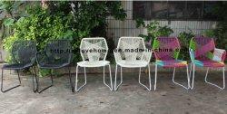 レプリカの屋外の食事の藤の肘掛け椅子のTropicaliaのレストランの家具のビーチチェア