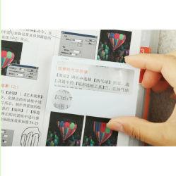 85*55мм 3X размер кредитной карты лупы, пластиковые линзы Френеля лупы Hw-805