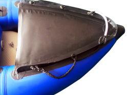 De nieuwe Opblaasbare Kajak van de Kano van pvc van de Visserij Materiële