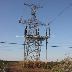De Toren van de Transmissie van de Macht van de Hoek van het Rooster van het staal