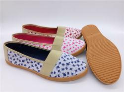 As mulheres de injeção mais recente design casual de Dança sapatos de lona (PSF7905-7)