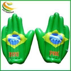 PVC promocional OEM aclamando la mano para inflable de la Copa Mundial 2018