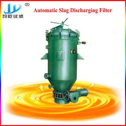 Descarga de pastel de vibración del filtro de aceite de cocina