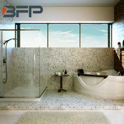 Azulejo de mosaico Waterjet decorativo del nuevo diseño de piedra de mármol blanco de la alta calidad