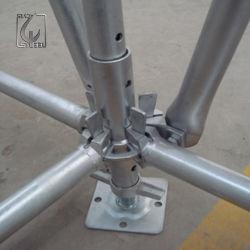 Norma Europeia EN Construção usar andaimes Ringlock Galvanizado