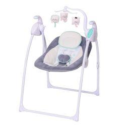 Кресло для детского свинга со съемными игрушками и пультом дистанционного управления