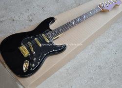 Black Leopard St guitarra eléctrica, el Hardware de oro