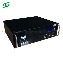 Batterie lithium-ion rechargeable 48V 50Ah Batterie LiFePO4 2.4Kwh remplacer Pylontech avec écran LCD