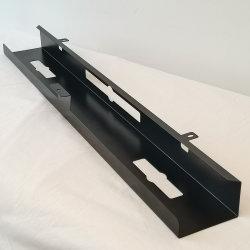 Ajustable en mesa permanente de la bandeja de la gestión de cable de hierro