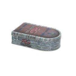 صندوق هدايا للقصدير المعدني لحزام التعبئة الخاص بالرجال