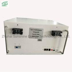 Cycle de profonde 48V 100Ah batterie Lithium-ion pour IDC Salle informatique à l'appui hvdc