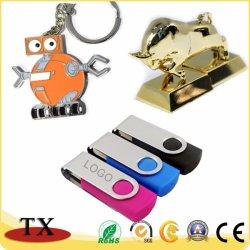 USB 플래시 드라이브용 금속 및 플라스틱 USB 플래시 프로모션 선물용 스틱 USB 펜드라이브