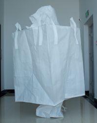 Polypropylen PTA Big Bags Top Auslauf Boden Auslauf Tülle FIBC Tonne Tasche mit Logo-Druck