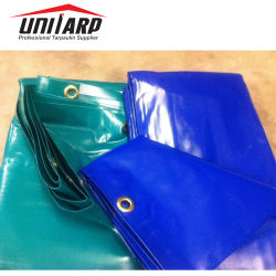 Heiß Geschweißte, Wasserdichte PVC-Tarp-Abdeckfolie, Vinylbeschichtung