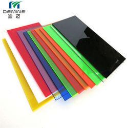 Strato solido del policarbonato colorato alta qualità per fare pubblicità