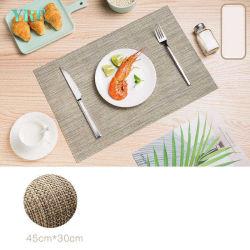 Yrfの日本様式のブナのコースターの正方形の形の純木のコップのマットのPlacematのテーブルクロス