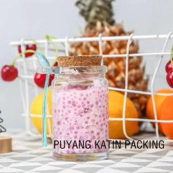 Bouchons de bois pour le lait et jus de fruits de l'emballage