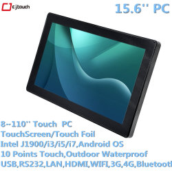 Cjtouch Cina Produttore Industriale 15,6 Pollici All In One Pcap Ip66 Impermeabile Touch Pc