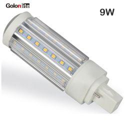 Sostituire la lampada chiara di G24 9W LED del PLC di CFL 2X18W giù