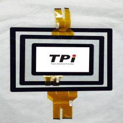 "10.1, 12.1"",15"",15.6"",17"",18.5"",19"",21.5"",22"",23"",23.6"",de 23.8"",27"",32"",43"",49"",55"" pantalla táctil Pcap con USB/RS232, Multi-Touch, sin conductor"