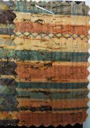 Классический стиль пробковое дерево зерна из синтетической кожи (HT100)