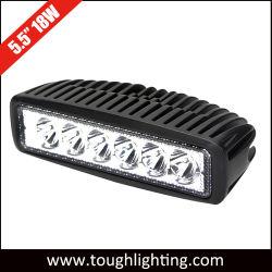 12V/24V 18W LED-Rijverlichting voor terreinrijden