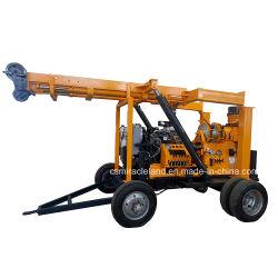 Tráiler montado Portable Ingeniería Geotécnica Perforación