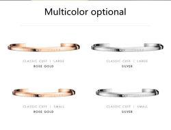 2018 Nouveau Bracelet en acier inoxydable dw Brassard Bijoux Bracelets gravés Bracelets inspirante de message pour les femmes