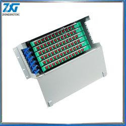 Montaje en rack recipiente vacío ODF Puerto 96 cuadro Marco de distribución de fibra óptica de la FOD (OEM ODM disponibles)