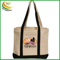 حقيبة قطن قطنية من قماش طبيعي عضوي مخصصة للترويج لأسلوب الموضة