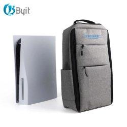 PS5용 Byit 고품질 PS5 숄더 팩백 소니 백 콘솔 게임 액세서리 여행 가방