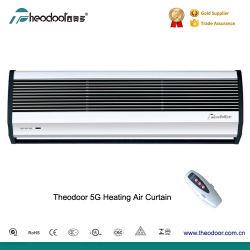 PTC de flujo transversal de la cortina de aire caliente de la térmica de la puerta de cortinas de ventilador con CE
