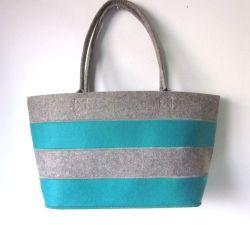 Eco Friendly Multi Couleur recyclé cadeaux Sac shopping Feutre Feutre promotionnel sac fourre-tout