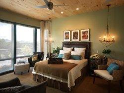 Китайском стиле, с одной спальней с одной спальней Queen Size мебель