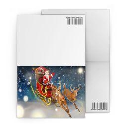 De in het groot Kaarten van de Groet van Kerstmis van de Levering van de Fabriek 3D Lenticular/Prentbriefkaar