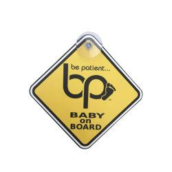 Réflectif bébé sur conseil signe pour le commerce de gros