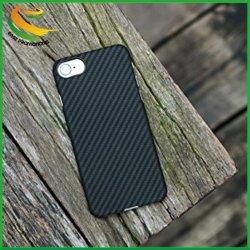 Conexão ultra fino (0,7mm) Super Light (10g) Sturdy Non-Slip fibra de aramida caso telefone para Apple iPhone 7sarjado preto/cinza fosco)