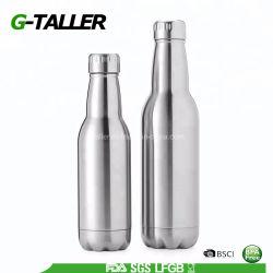 De Fles van de Nevel van het Metaal van de Douane van het Bier van de schroefdop
